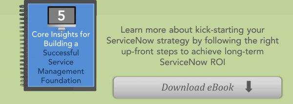 Acorio ServiceNow ITSM eBook