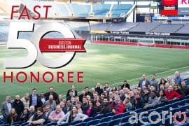 Acorio Fast50 Boston Business Journal