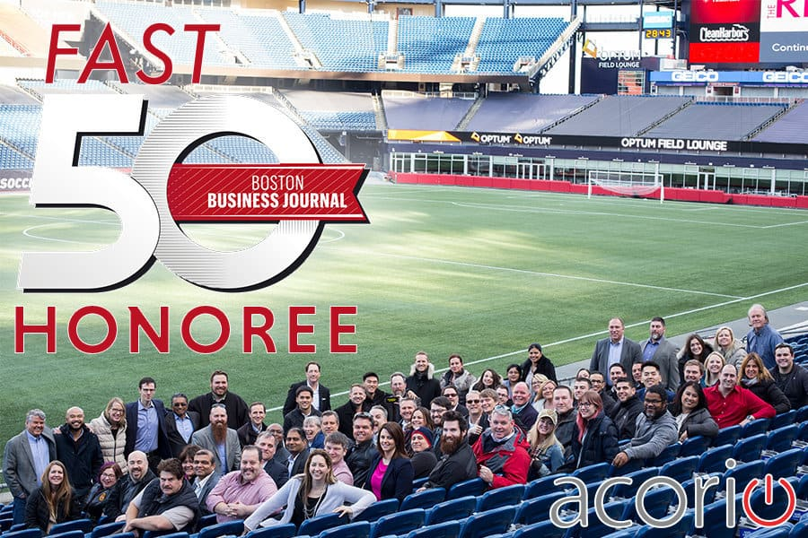 Acorio Fast50 Boston Business Journal