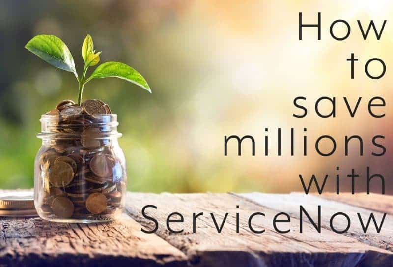 ServiceNow Asset Management Savings