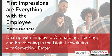 Cover the for First Impressions are Everything with the Employee Experience webinar on Oct 24th 2017