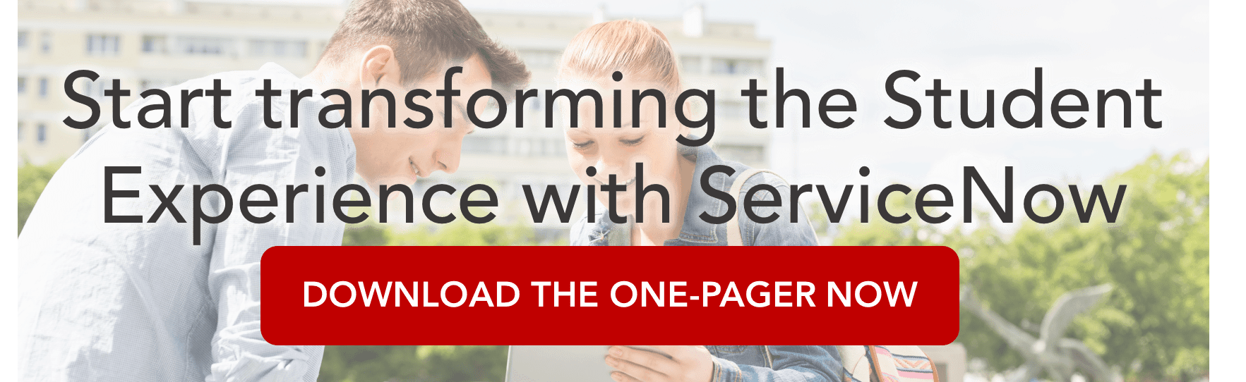 Redefine the Student Experience with ServiceNow   Acorio