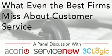Cover for the What Even the Best Firms Miss About Customer Service webinar