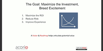 Cover for the Building a ServiceNow Vision and Roadmap - Why Your Roadmap Could Crash webinar