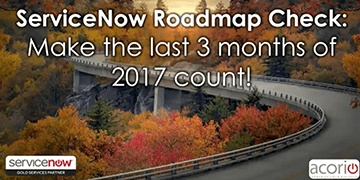 Cover for the ServiceNow Roadmap Check: Make the Last 3 Months Count webinar