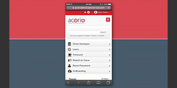 Cover image of Acorio MobileTimecards Solution