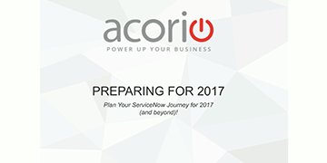 Cover for the New Year Prep Class: Plan Your ServiceNow Journey for 2017 (and beyond!) webinar