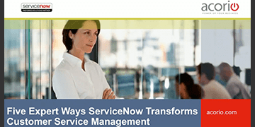 Cover image for Customer Relationship Bootcamp: Five Expert Ways ServiceNow Accelerates CSM