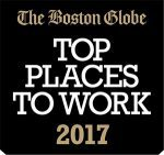 Boston Globe top Places to Work Image