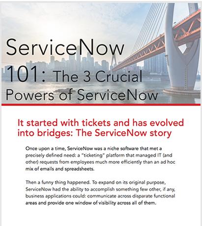 Acorio ServiceNow 101 Book Cover