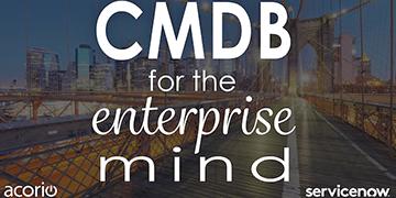 CMDB ITSM Webinar