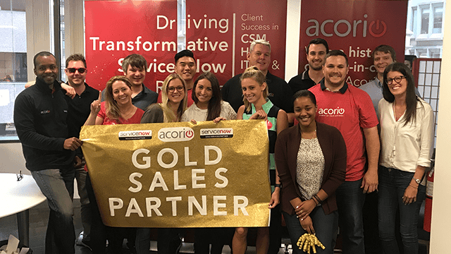 Gold Sales Partner ServiceNow