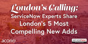 ServiceNow London Webinar