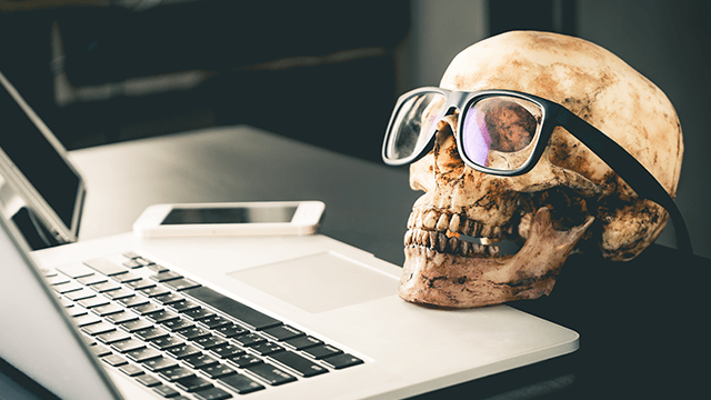 ServiceNow Questions Skull
