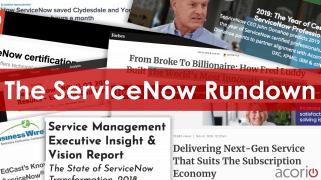 ServiceNow News