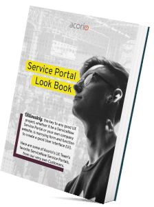 UX Design Service Portal eBook Cover