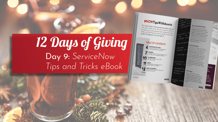 Download ServiceNow Tips