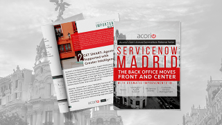 ServiceNow Madrid Release