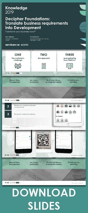 Knowledge19 presentation foundations