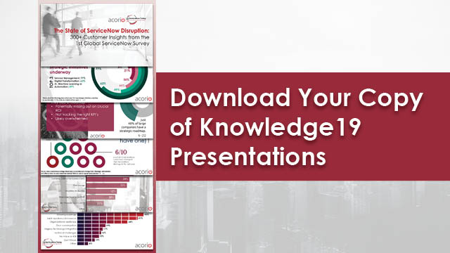 Knowledge19 Doesn't Have to Be Over [PPT Downloads] | Acorio