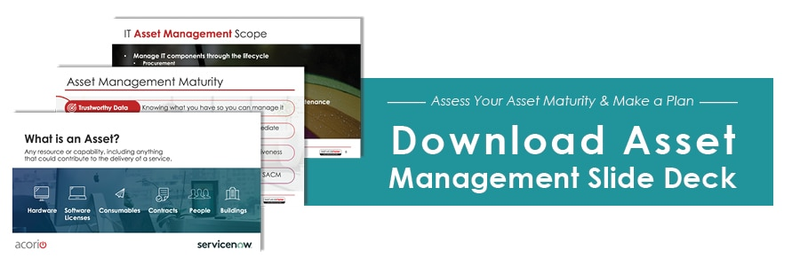 Asset management program