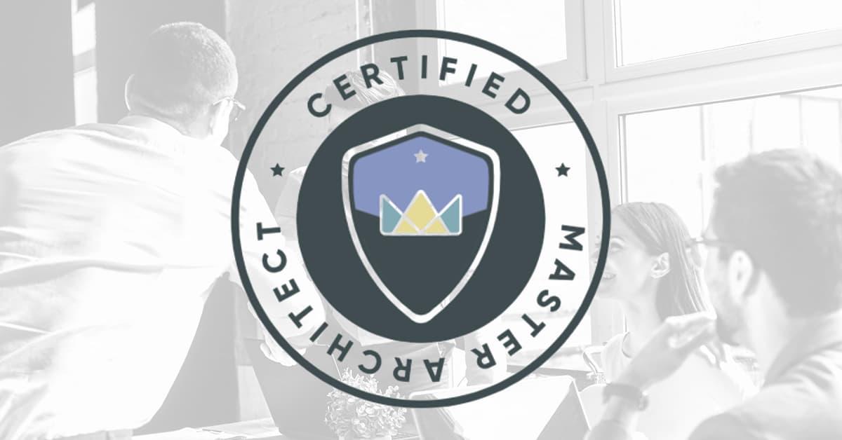 Certified Master Architect Logo