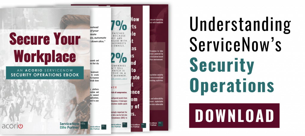 ServiceNow SecOps