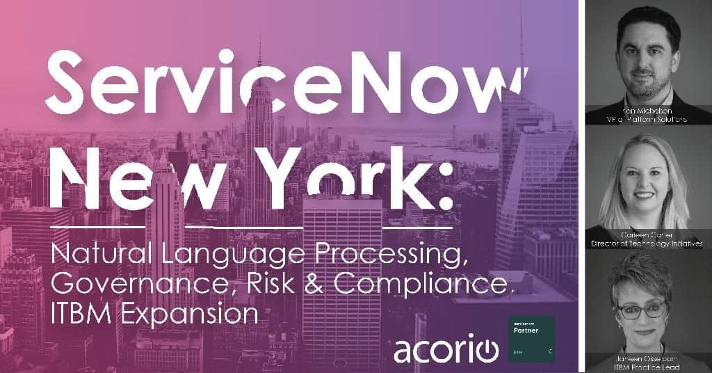 ServiceNow New York