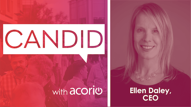 Candid podcast with Ellen Daley cover