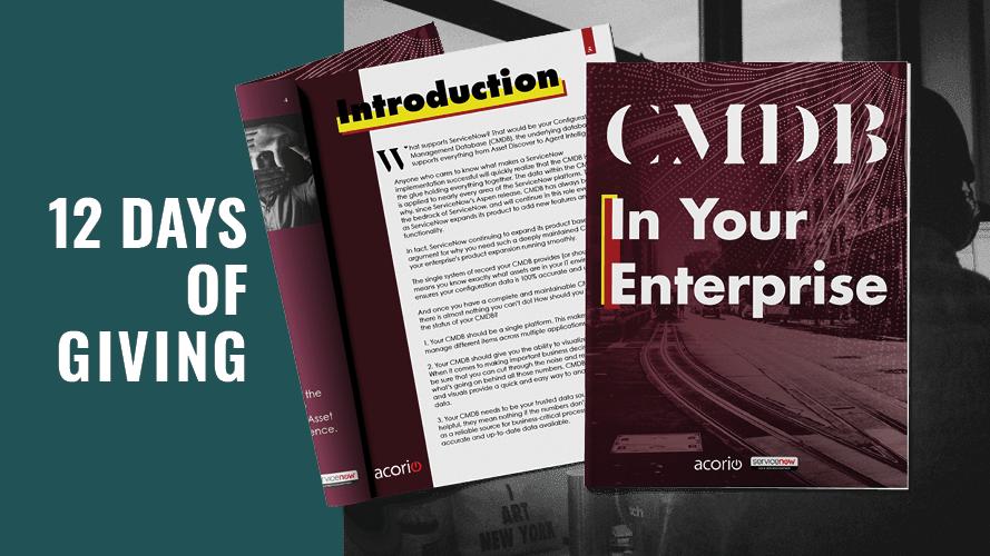 Defining CMDB eBook cover