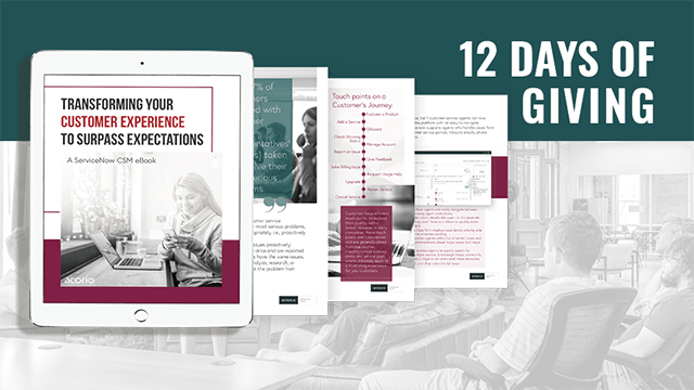 12 Days Of Giving Determine The Value Of A Csm Strategy Acorio