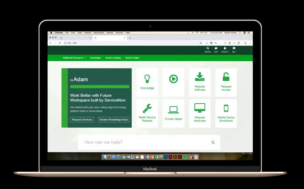 Bank Service Portal