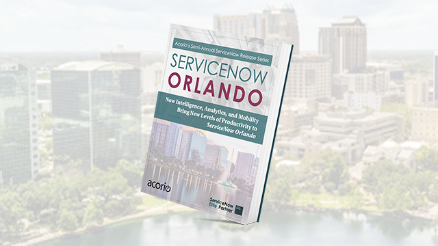 Servicenow Orlando upgrade release eBook