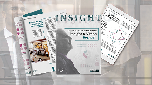 ServiceNow insight & vision report preview