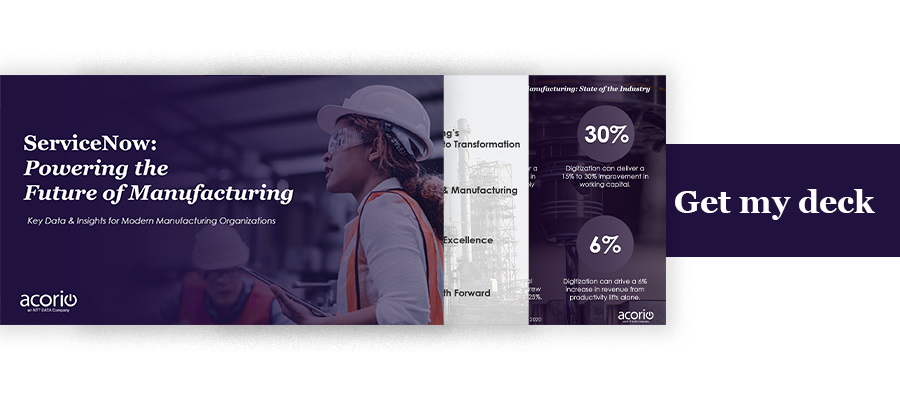 Manufacturing business case pitch deck Giveaway Button